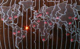 Design HORLOGE MONDIALE – MIDI SUR TERRE | Alainpers | 220_Alainpers-horloge mondiale-design